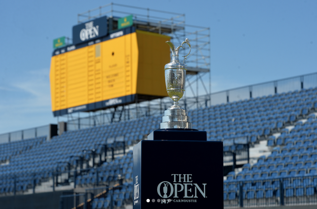 The Open is the only tournament played outside of the US