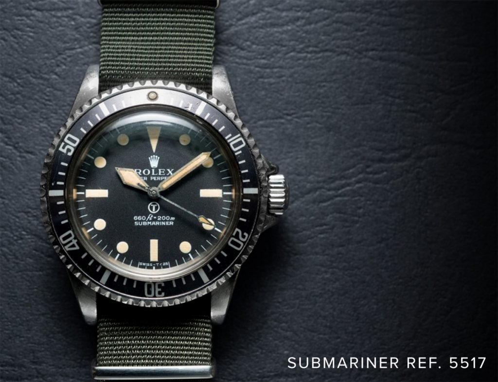John Mayer owns a very rare Submariner Ref. 5517