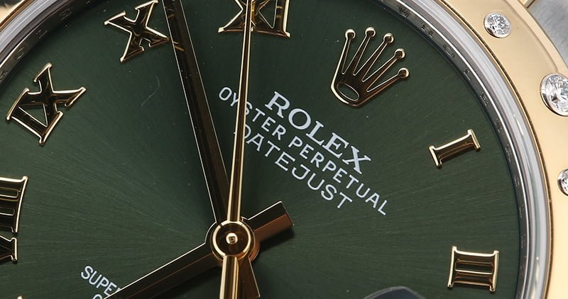 The Green Dial on the 178343 Lady-Datejust