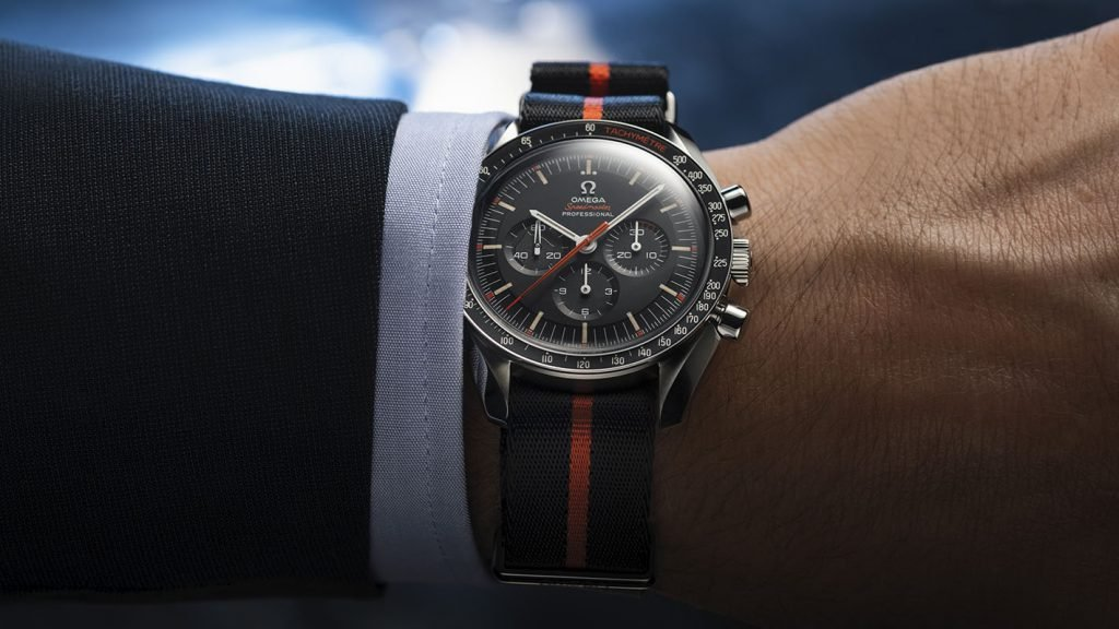 The limited edition Speedmaster will set you back $7,100 if you can make it through the waitlst