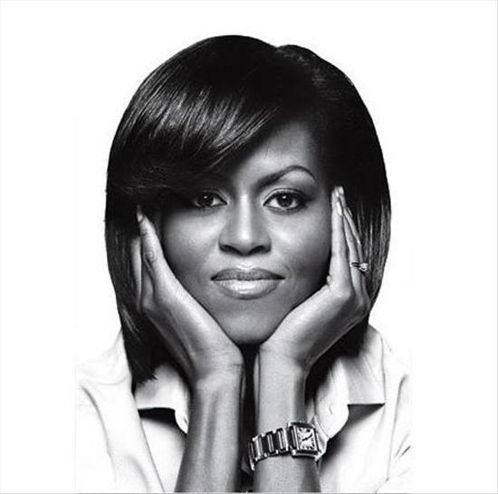 Michelle Obama prefers to wear a Cartier Tank watch