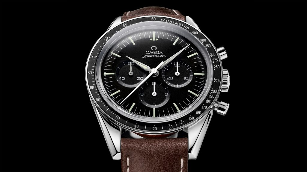 The Omega Speedmaster 311.32.40.30.01.001 is considered by many to be a perfect chronograph