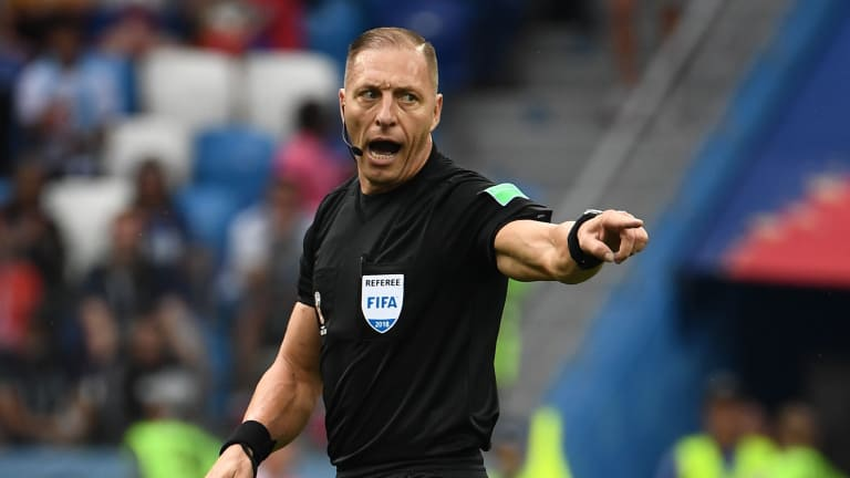 Nestor Pitana has been this World Cup's best ref