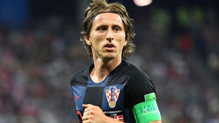 Luka Modric is Croatia's best hope for the World Cup Final