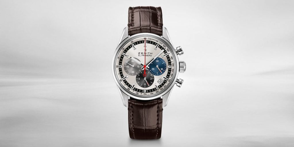 A replica of the original Chronograph from Zenith