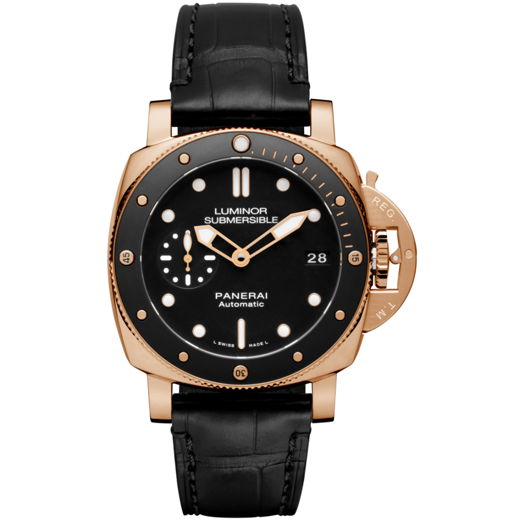 The Rose Gold Submersible Panerai