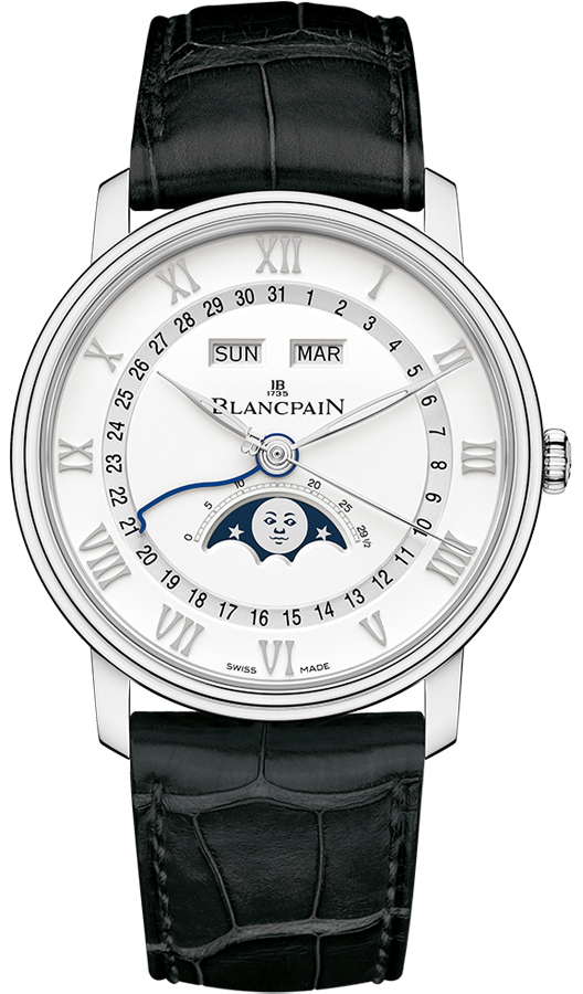 Blancpain Villeret Date Moonphase is an excellent automatic ladies watch