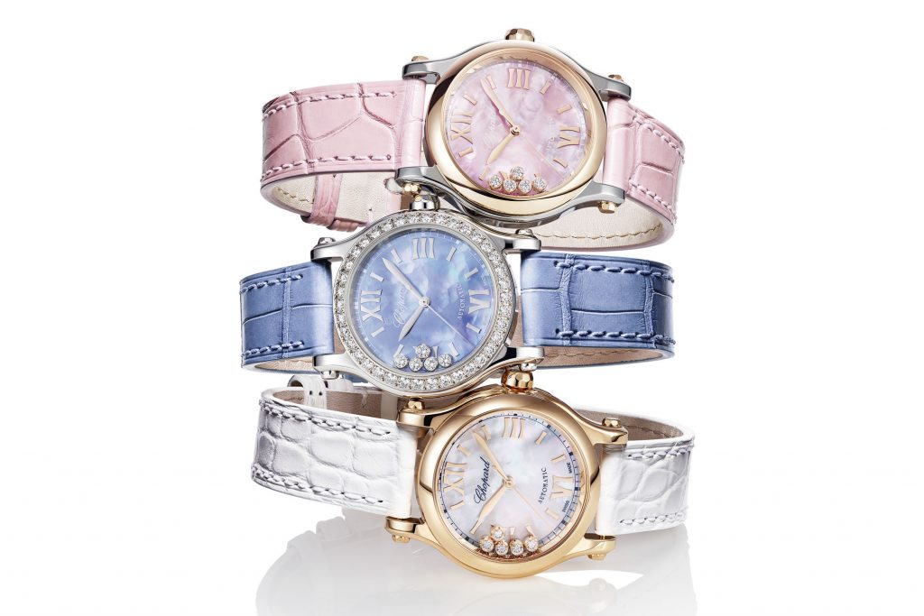 women's automatic watch - Chopard Happy Sport 25th Anniversary Edition