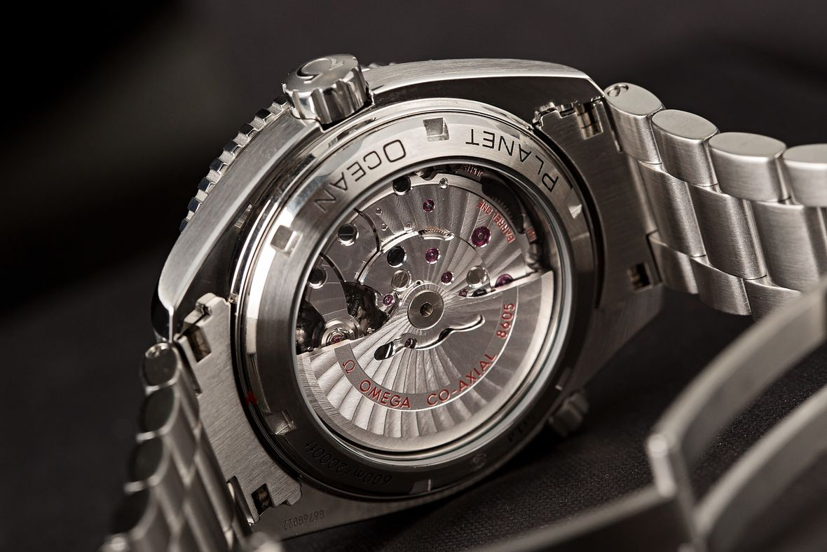 Omega Seamaster Planet Ocean GMT Co-Axial Movement