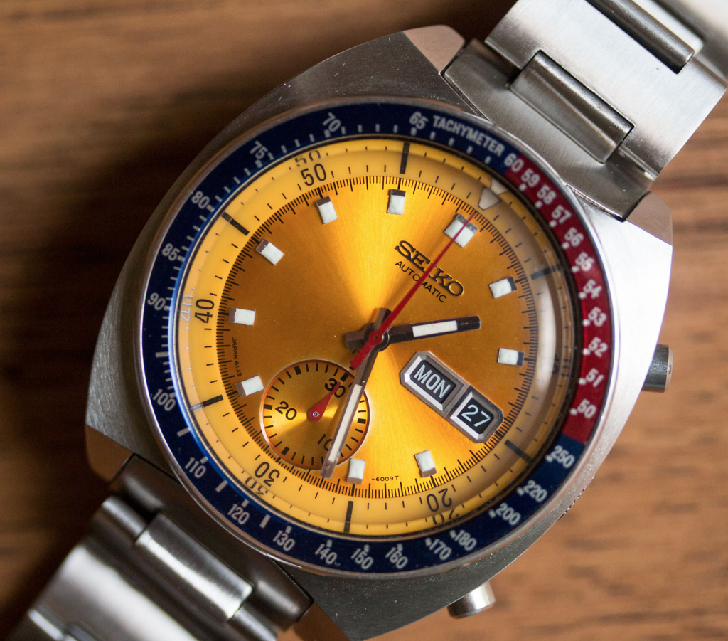 Seiko 6139 was one of the first space watches