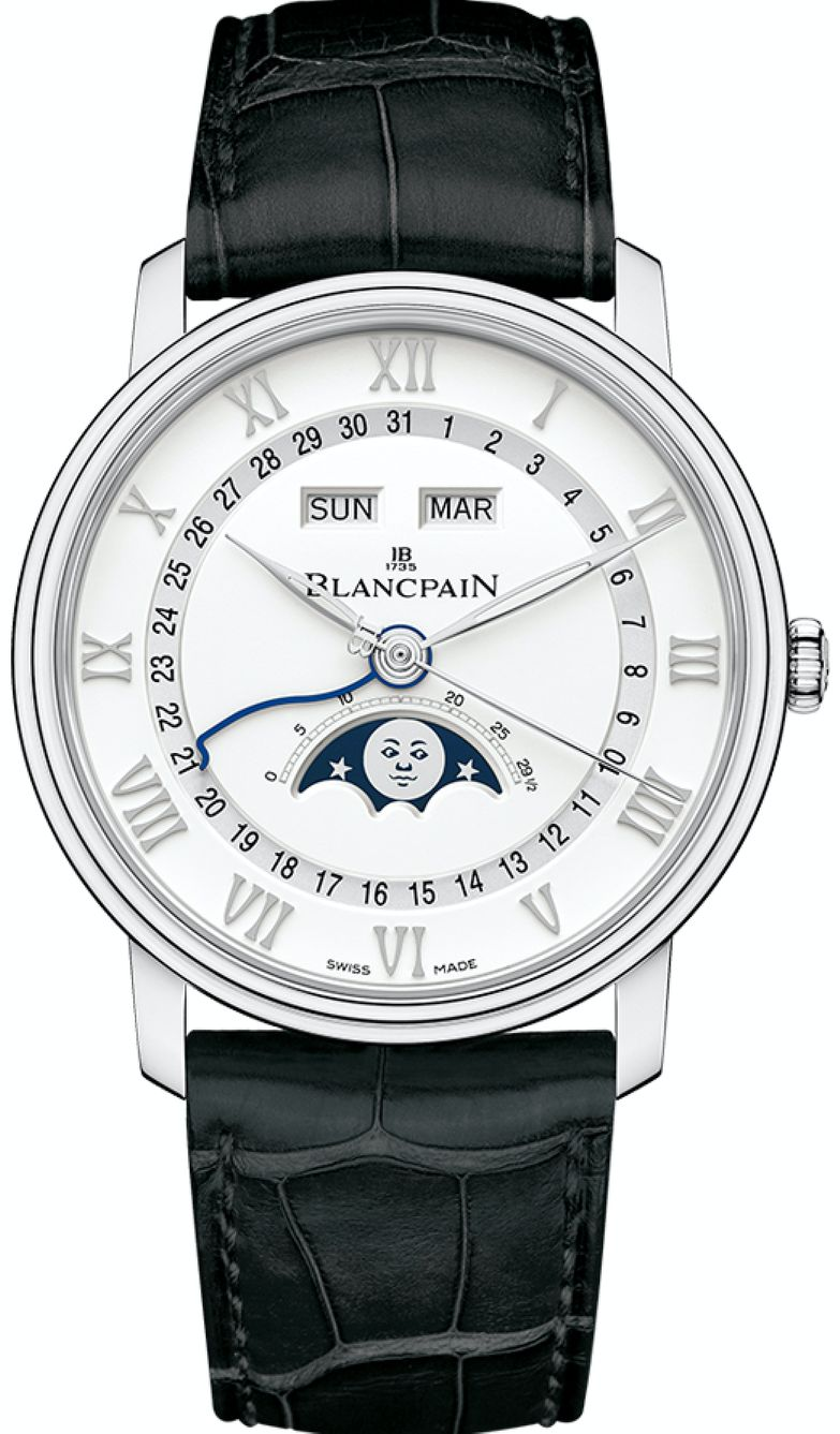 women's automatic watch - Blancpain Villeret Date Moonphase is an excellent automatic ladies watch
