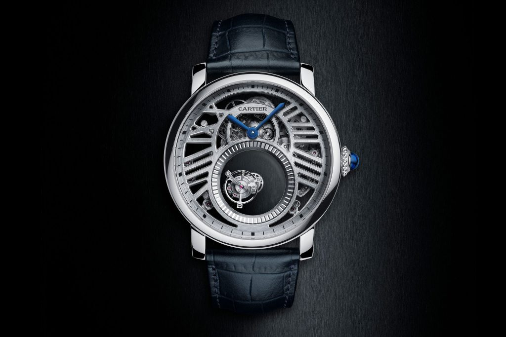 The Cartier Rotonde de Cartier Skeleton