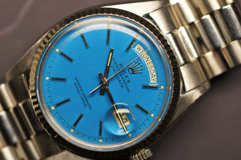 A Special Blue Stella Dial