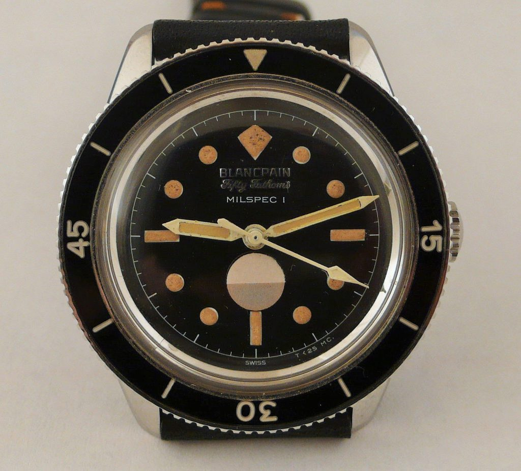 Vintage 1960's Blancpain Fifty Fathoms Watch