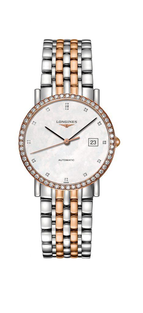 Longines Elegant with Diamond Case