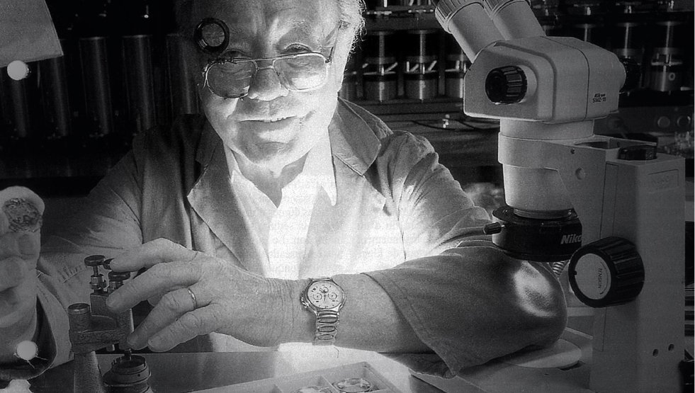 Charles Vernot (photo courtesy of Zenith Watches)