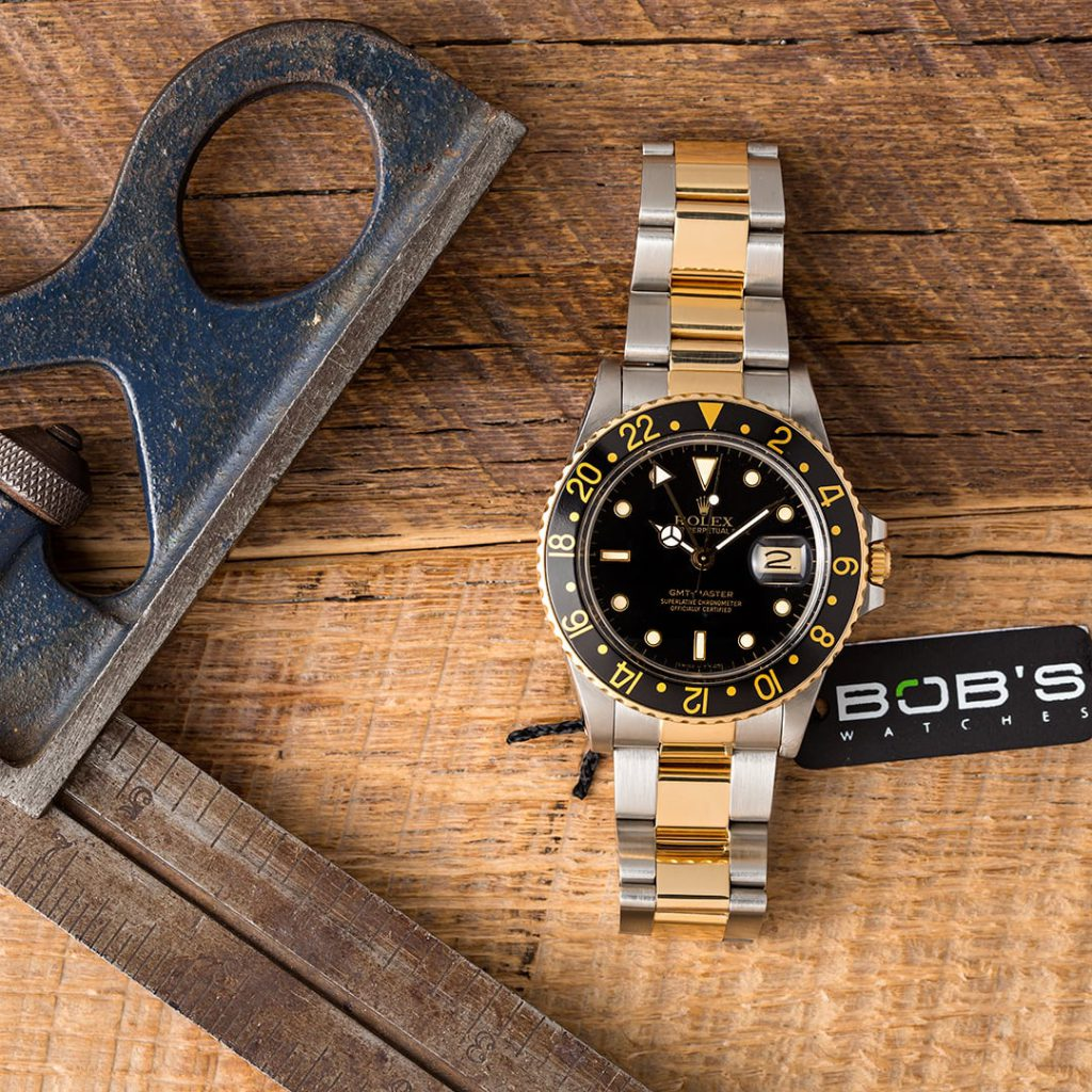 The vintage Rolex two-tone GMT-Master 16753