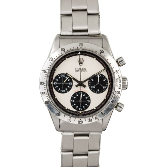 The Paul Newman Daytona featured at auction