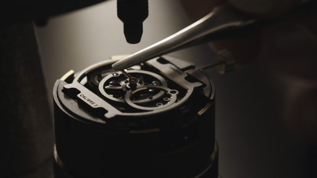 The Chanel Caliber 3 movement in production
