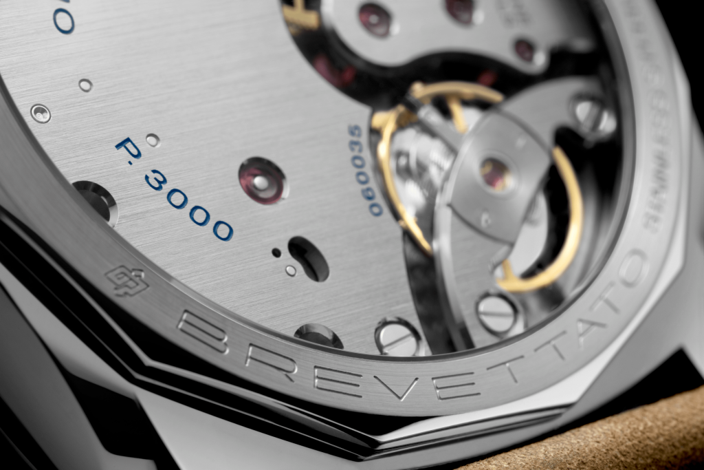 The inside of the new Panerai