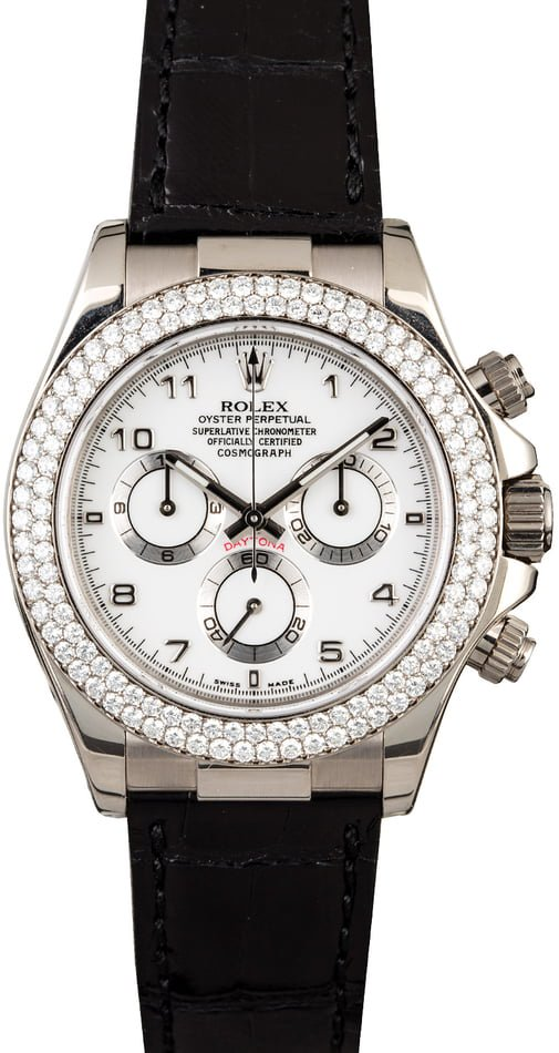 The diamond studded Rolex Daytona 116589