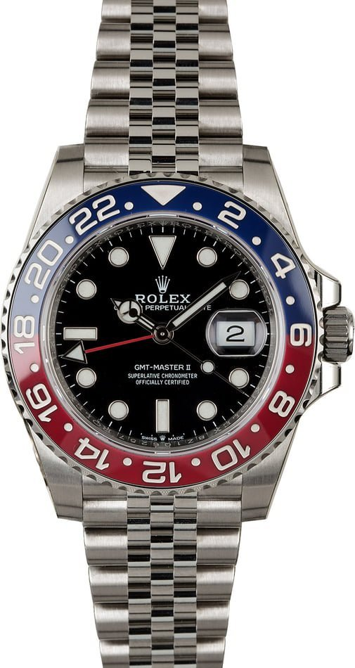 The new Rolex GMT-Master II Pepsi