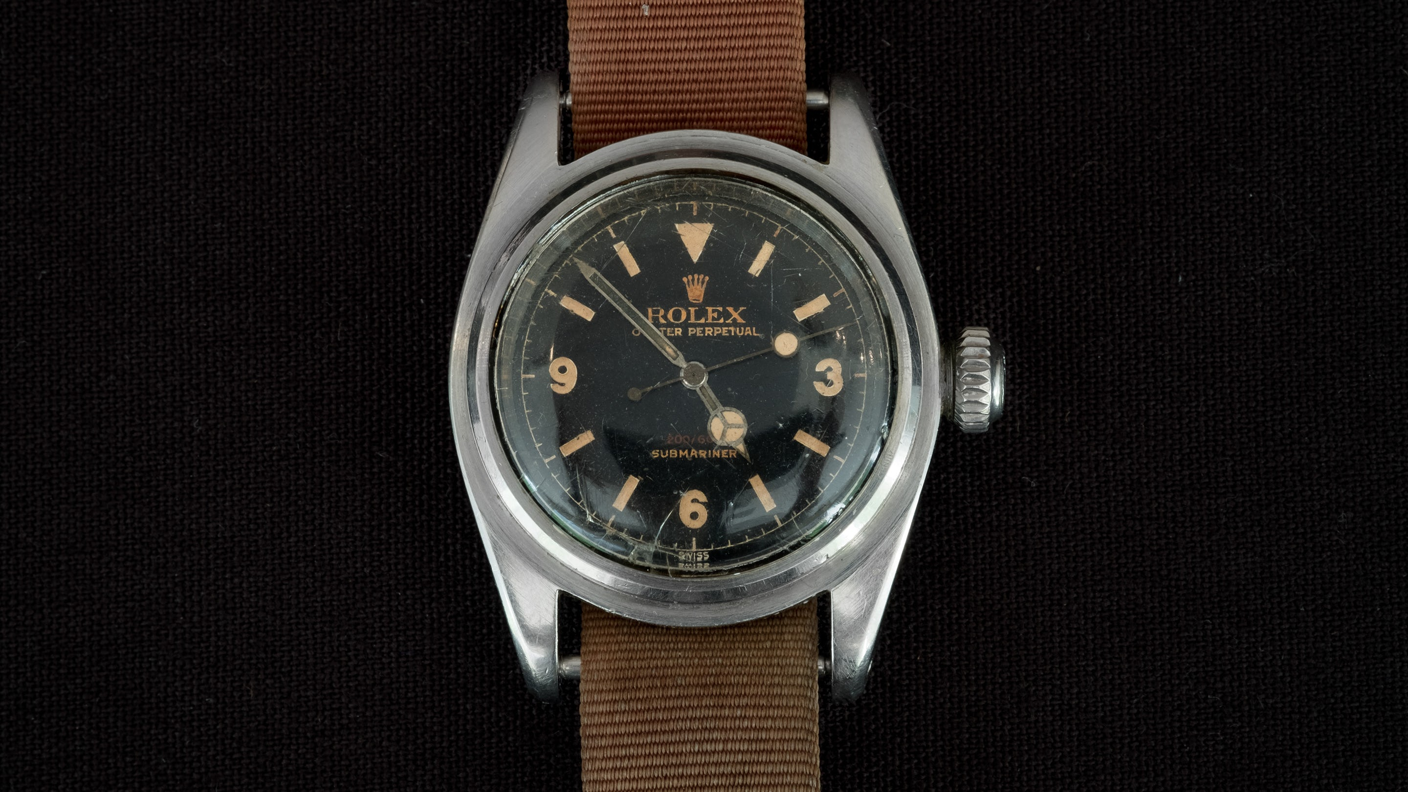 This Submariner sold for over $1,000,000 this year at auction