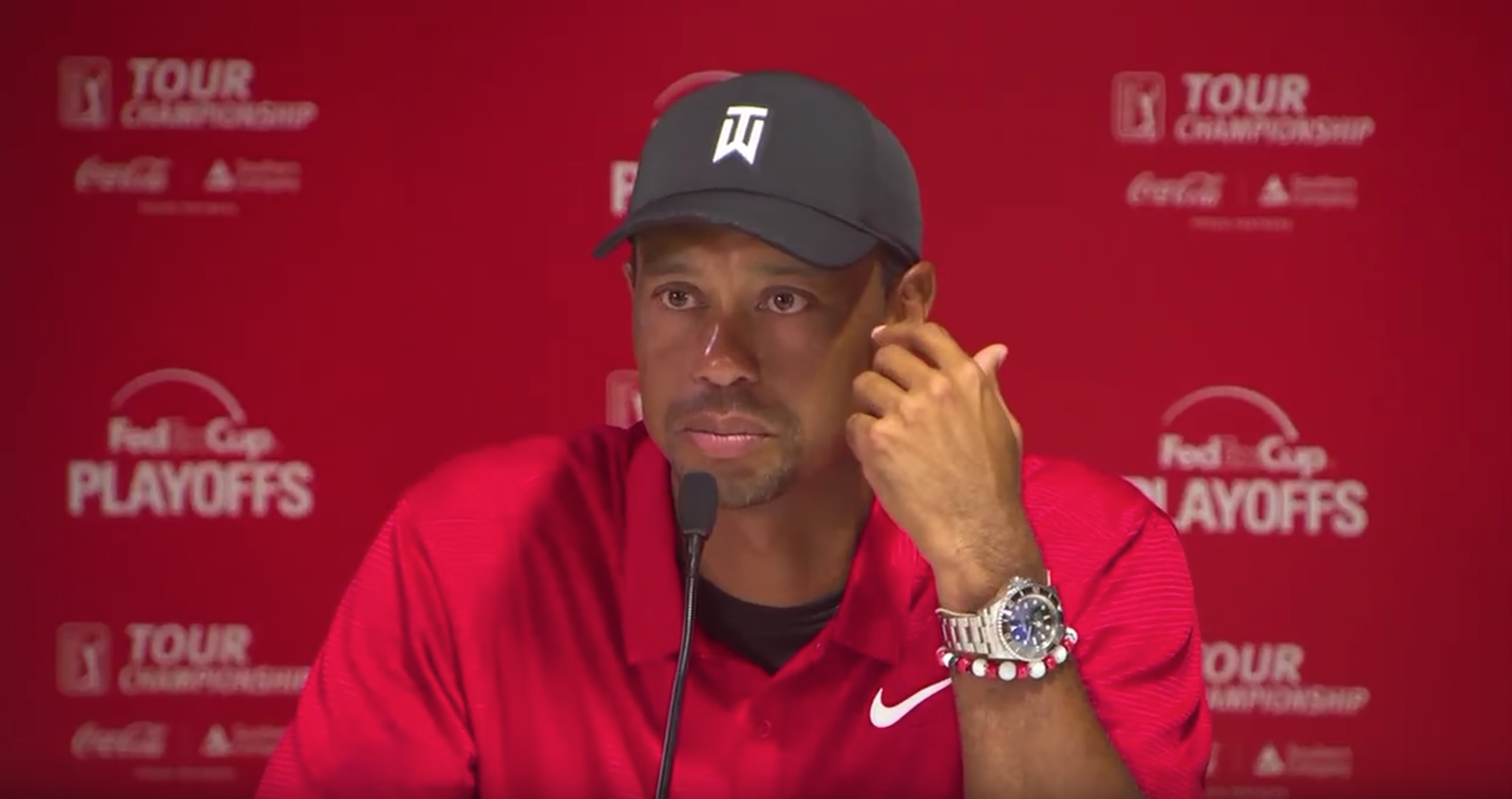 Tiger Woods has been seen wearing his Deepsea for a few years now