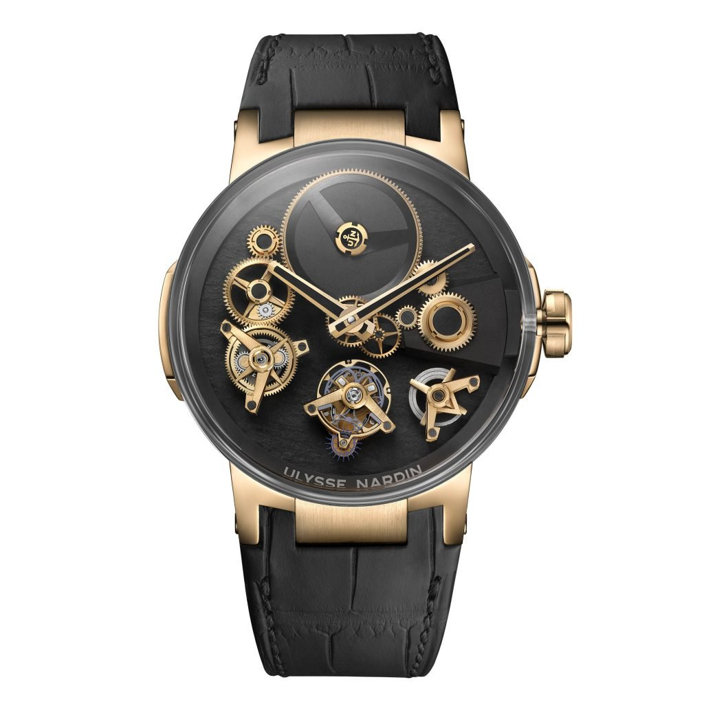 The Ulysse Nardin Executive Tourbillon Free Wheel