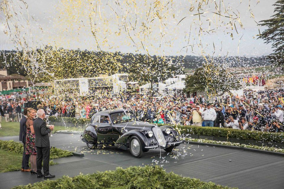 1937 Alfa Romeo 8C Wins Best of Show at 2018 Pebble Beach Concours d'Elegance