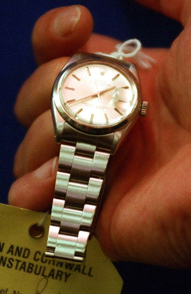 This Rolex Datejust was what helped solve the murder of Mr. Pratt