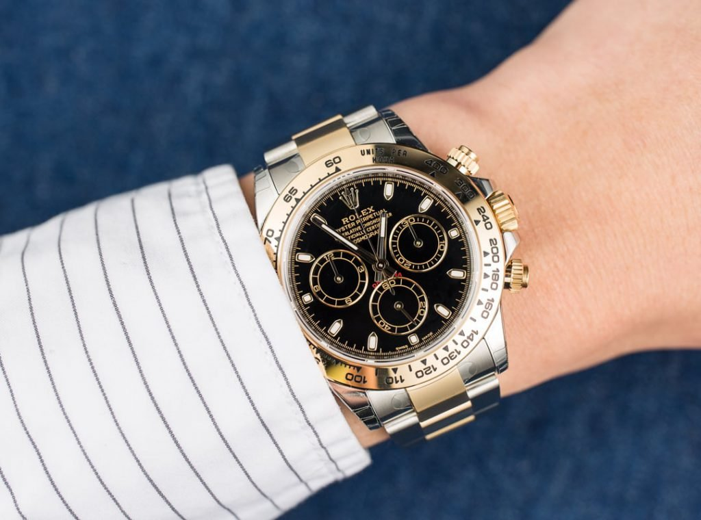 The Two-Tone Rolex Daytona