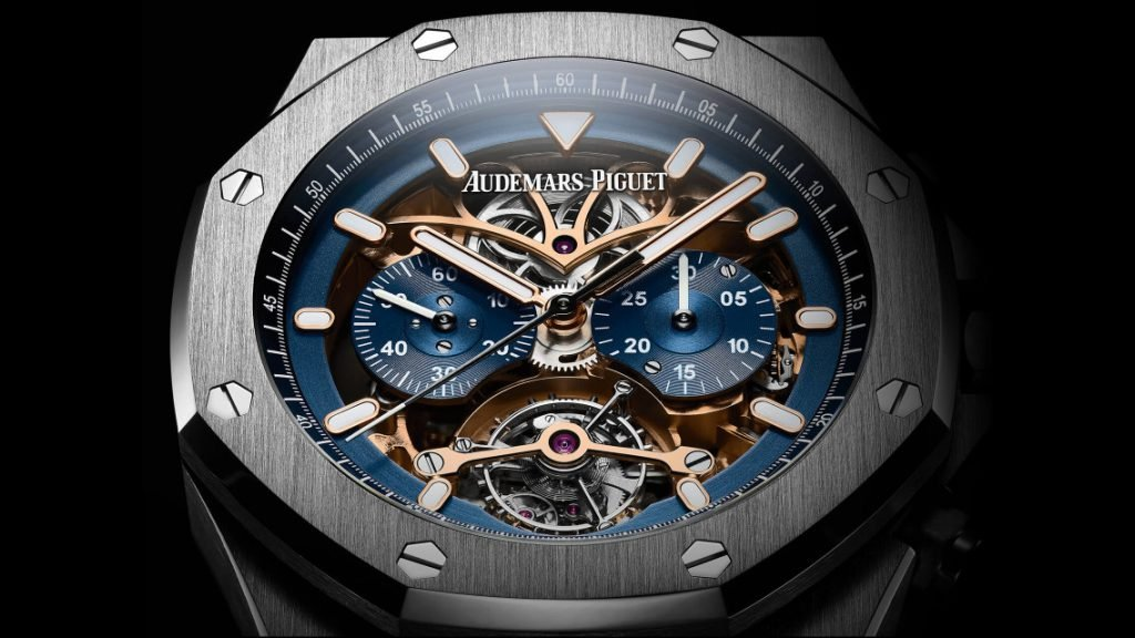 The Audemars Piguet Royal Oak Tourbillon Chronograph Openworked