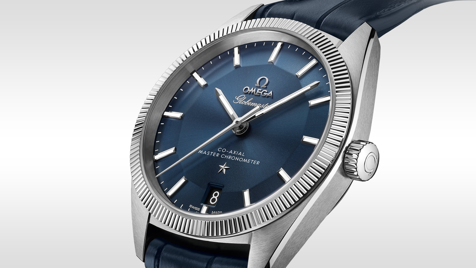The Globemaster from Omega is a chic, stylish option to get you through humpday