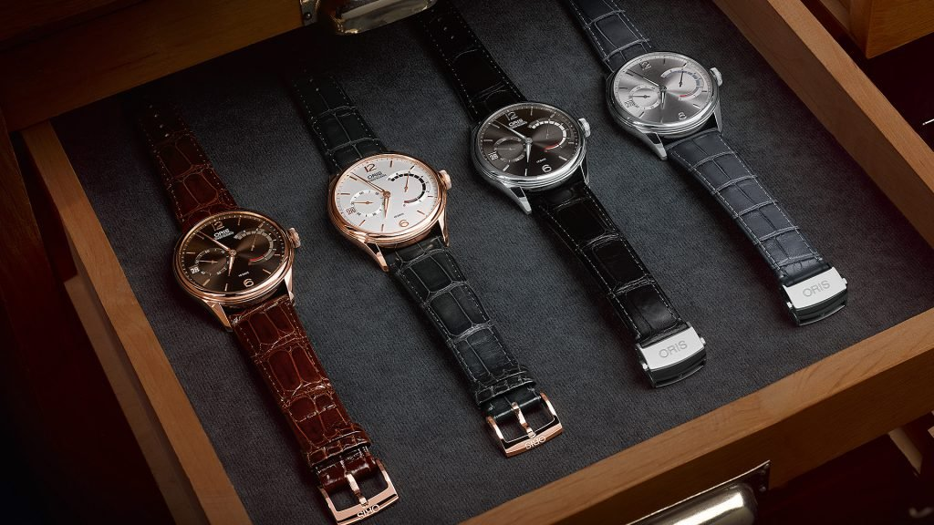 Many of the Oris Atelier models come with an impressive 10-day power reserve