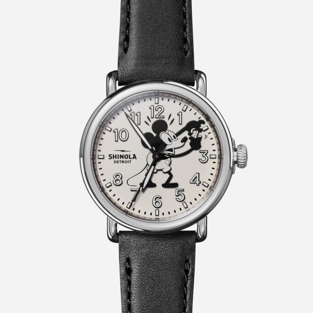 Shinola celebrates the American success of Disney in their new watch series