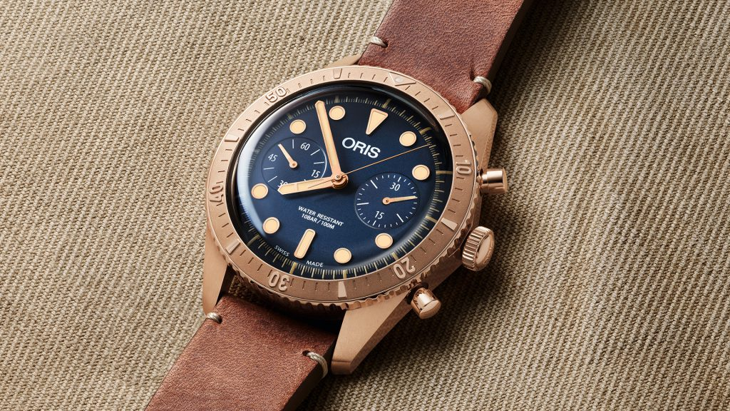 The Oris Carl Brashear Chronograph Limited Edition - Oris watches