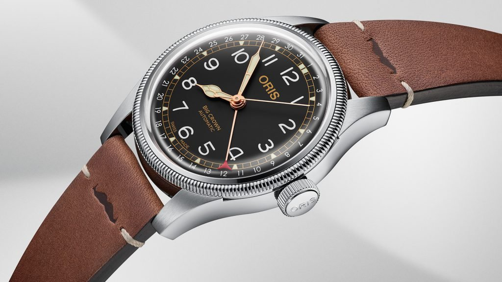 The Big Crown Pilot's watch is one of the most well known models from Oris watches