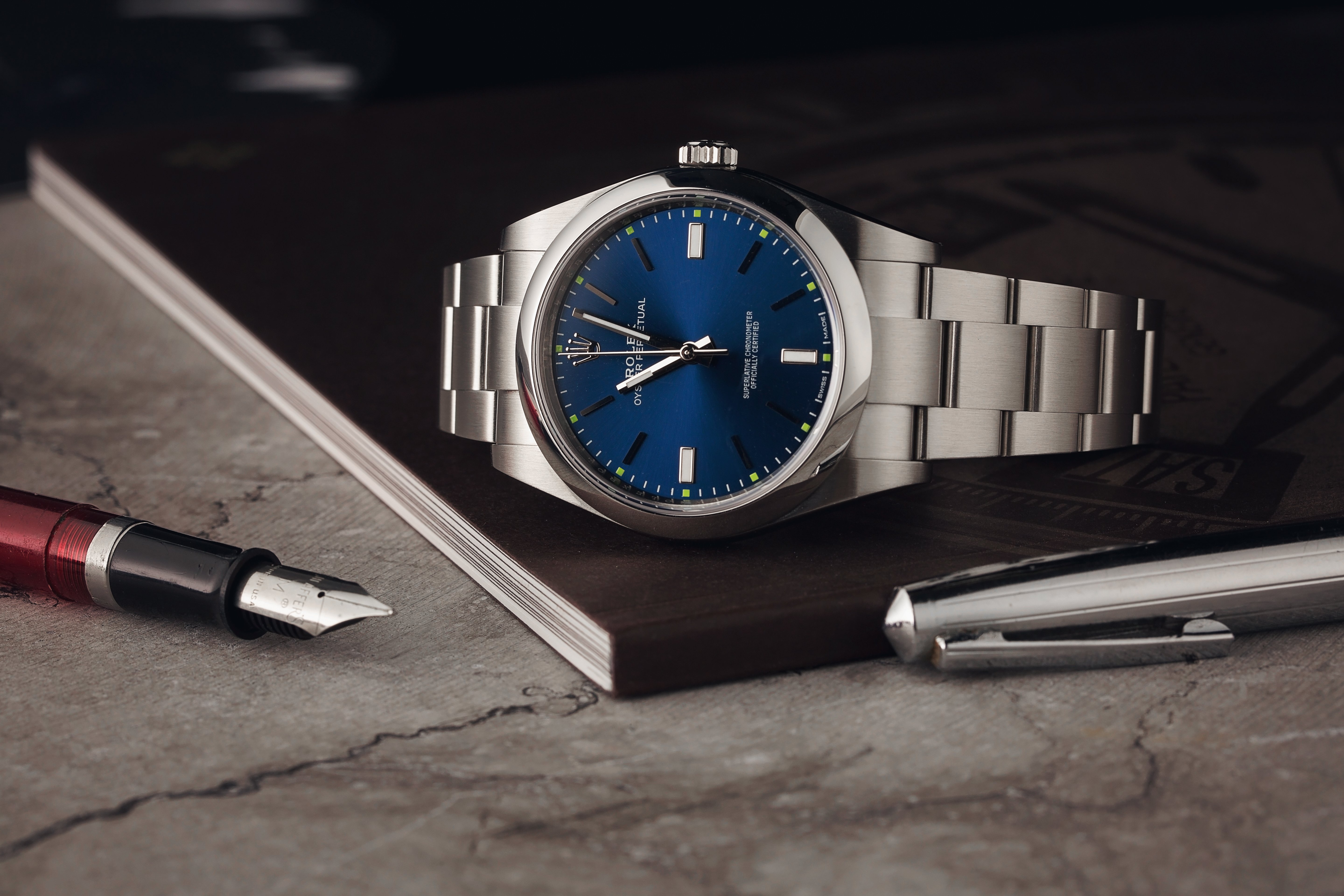 The Rolex Oyster Perpetual ref. 114300