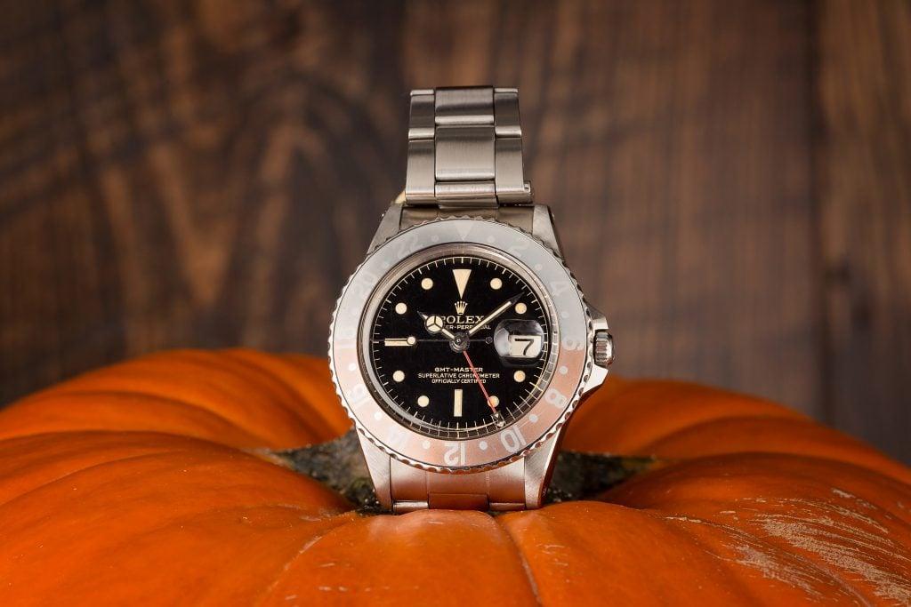 A ghost bezel Rolex GMT-Master 1675