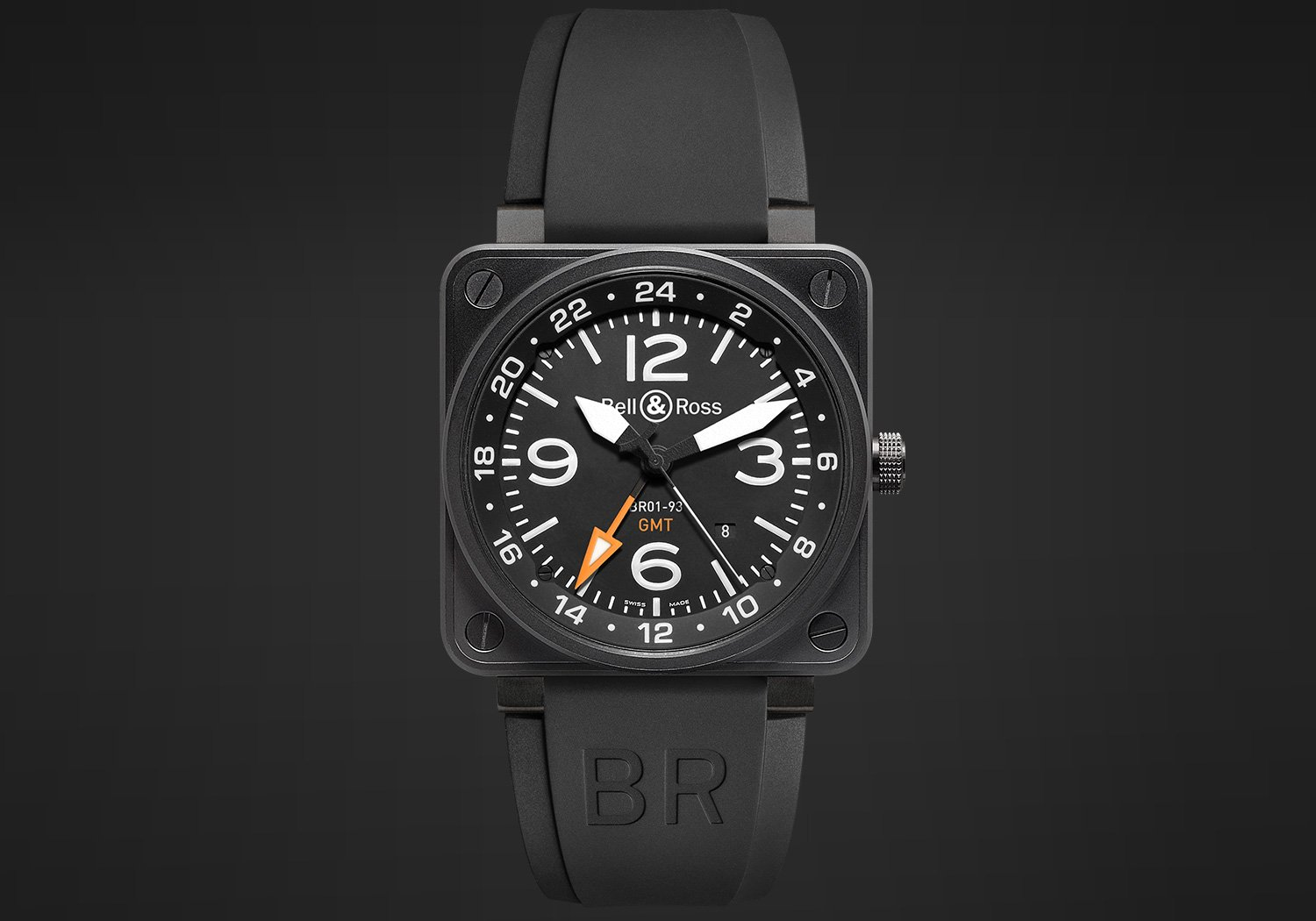 The BR 01 - 93 GMT has a very useful dual time-zone function
