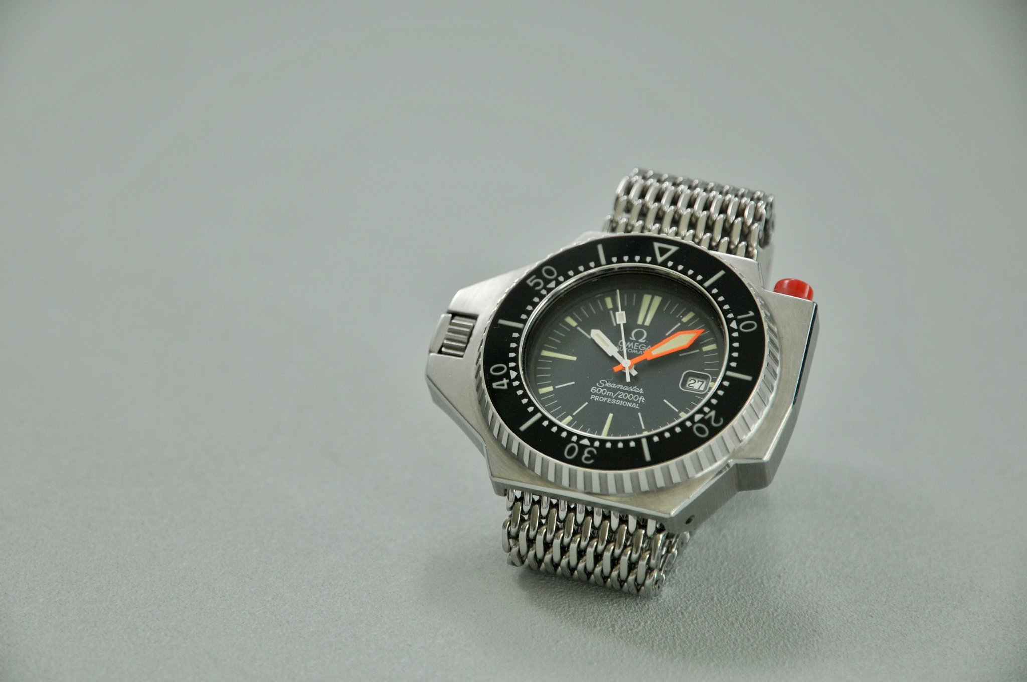 The Omega Seamaster 600 Ploprof is definitely not the smallest dive watch ever