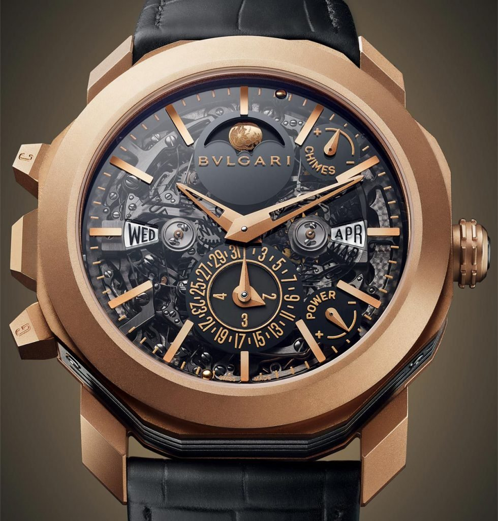 The new Octo Grande Sonnerie Perpetual Calendar from Bulgari