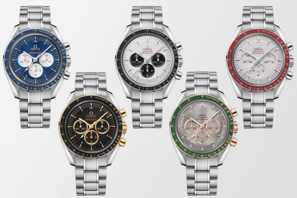 Omega released 5 new Speedmasters in anticipation of the Tokyo 2020 Olympics