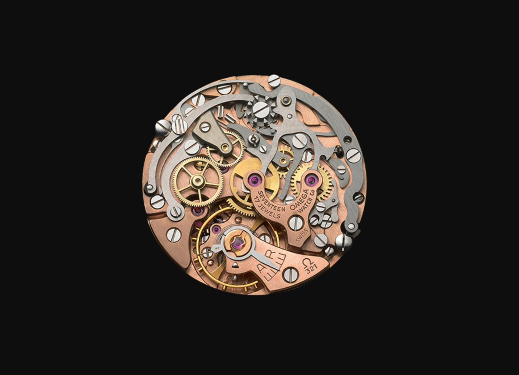 The Calber 321 Movement from Omega