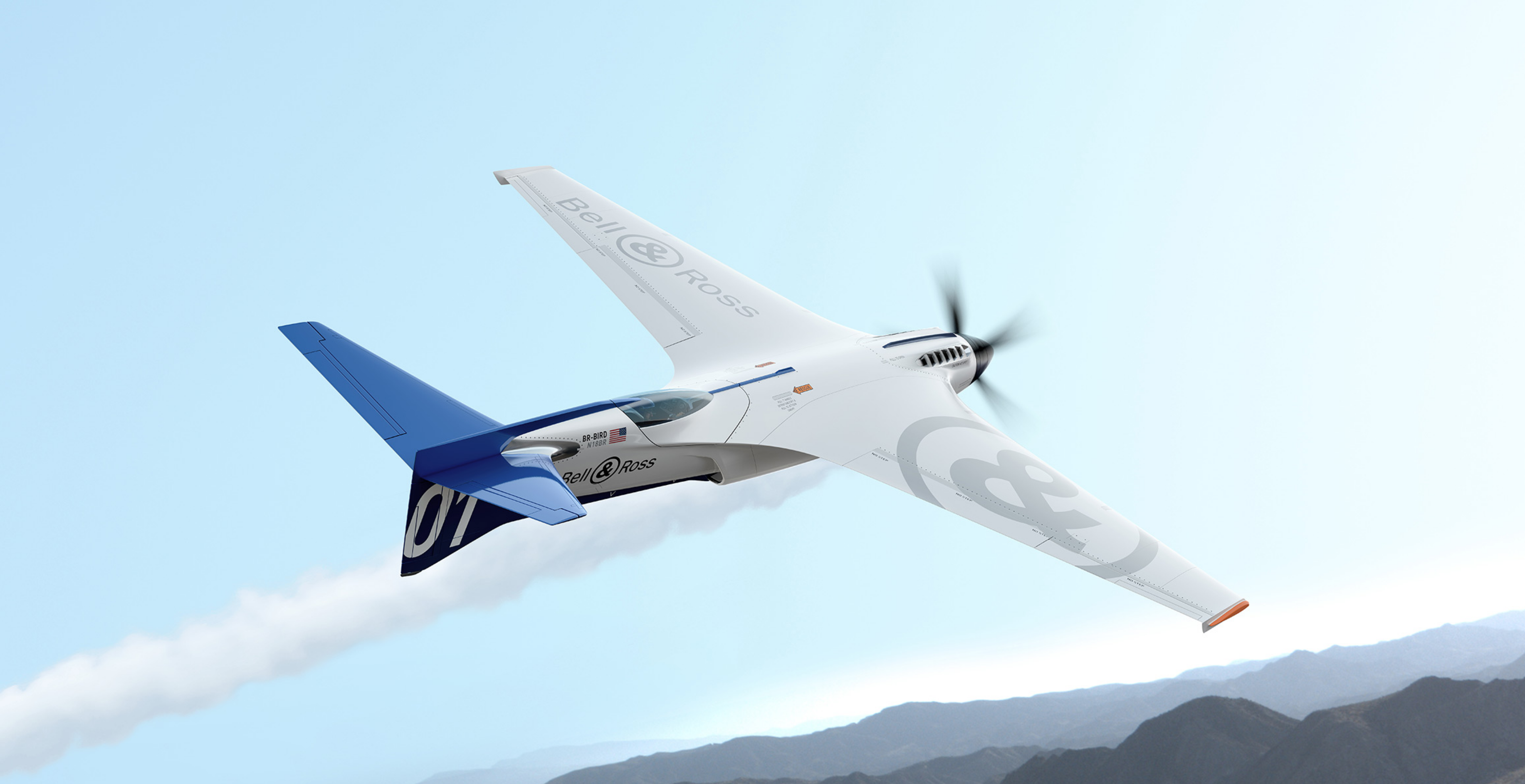 Bell & Ross designed a plane. Really.