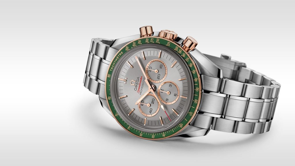 The green and gold speedmaster