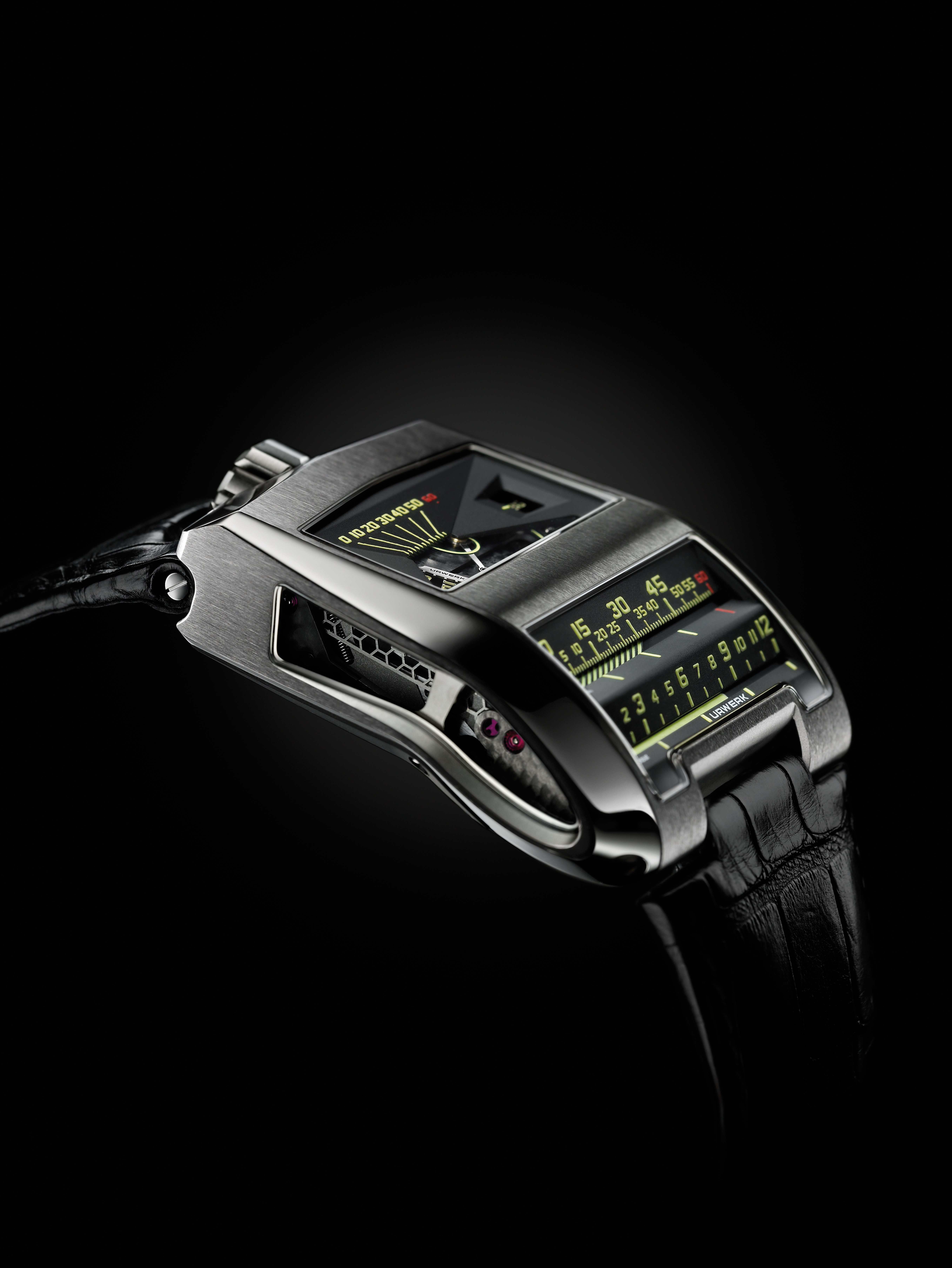 The Urwerk UR-CC1 King Cobra
