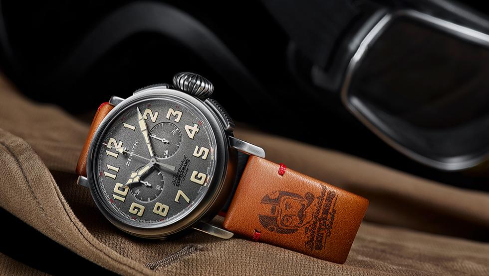 This moto-themed chronograph was made by Zenith specifically for the DGR