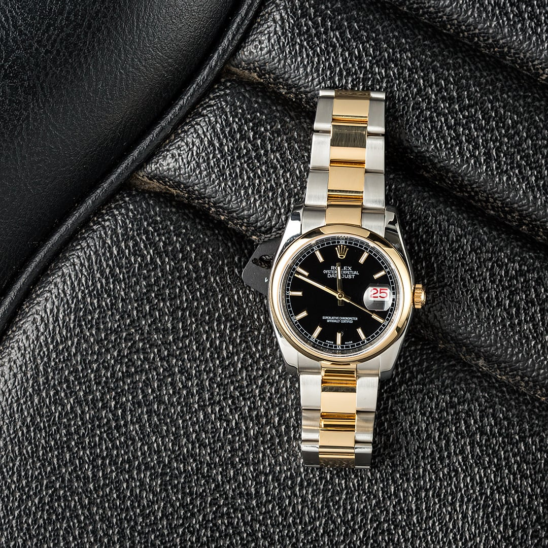 Rolex Datejust 116203 pairs well with this strikingly delicious cocktail